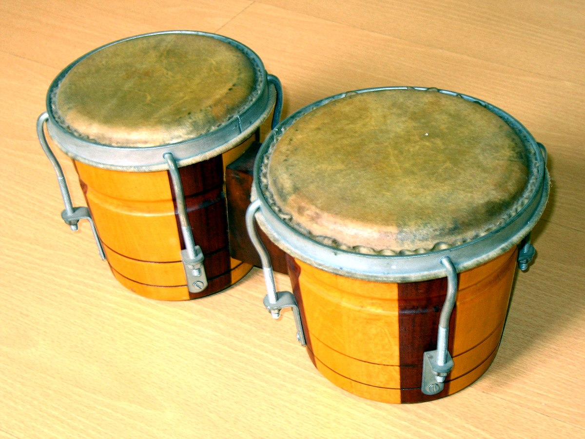 Bongo Drum Wikipedia 1 Set Alat Band