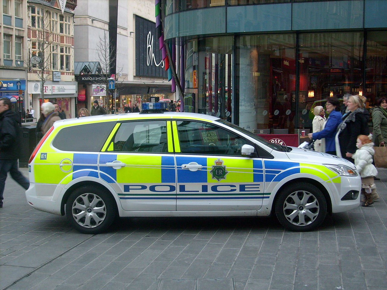 Liverpool Police Car Crash
