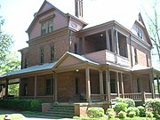 Booker T. Washington's house at Tuskegee University