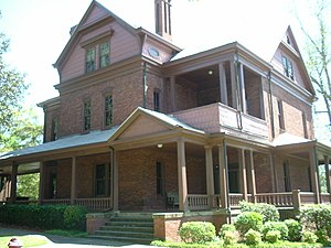 Booker T. Washington's house at Tuskegee