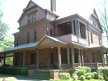 English: Booker T. Washington's house at Tuskegee