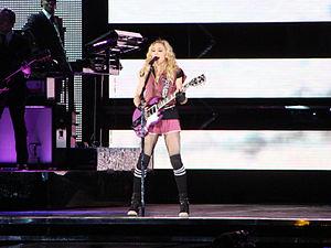 Borderline (Madonna song) - Image: Borderline Lisbon