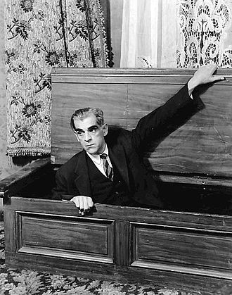 Arsenic and Old Lace (play) - Boris Karloff as Jonathan Brewster