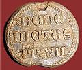 Bouchet Exposition les vins des papes d'Avignon Bulle de Benoît XII 1334.jpg