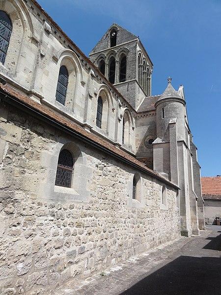 Bourg-et-Comin (Aisne) Église, detail