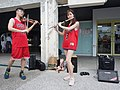 Boy and Lily Cao playing 20200704a.jpg