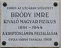 Bródy Imre Plaque Gyula.jpg