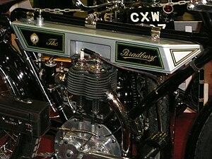 Bradbury Motor Cycles - Image: Bradbury motorcycle