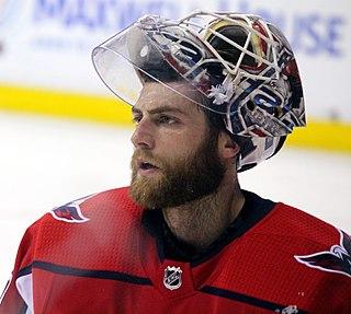 Braden Holtby Canadian ice hockey goaltender