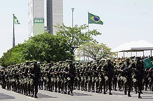Independence Day (Brazil) - Independence Day parade in Brasília