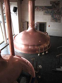 Brewery Hoepfner.-.Brew kettle