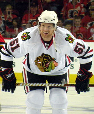 Brian Campbell - Brian Campbell with the Blackhawks in 2010.