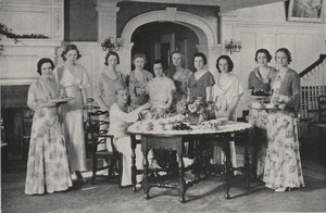 Briarcliff College - Lawn Tea members, 1932