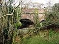 Bridge across the former branch line to Tipton St John - geograph.org.uk - 1180317.jpg