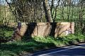 Bridge over Pincey Brook on Matching Road, Hatfield Heath, Essex, England 02.jpg