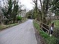 Bridge over small stream, Stonyford Lane - geograph.org.uk - 1769853.jpg