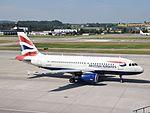 British Airways Airbus A319 - G-EUPV (ZRH) (20234847189).jpg