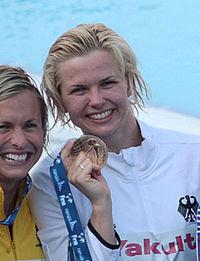 Britta Steffen medal