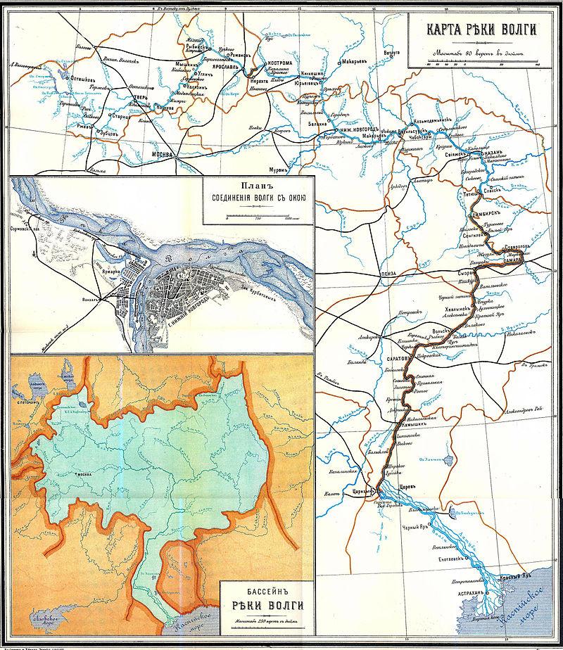 Лоцманская Карта Реки Сухона