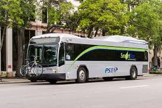 Pinellas Suncoast Transit Authority - BRT Gillig Bus