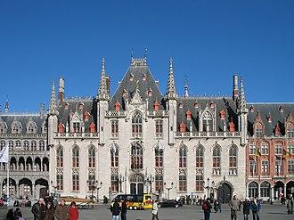 Louis Delacenserie - Image: Brugge Provinciaal Hof