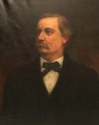 John P. Buchanan - Portrait of Buchanan by Willie Betty Newman