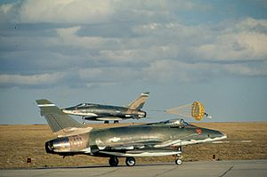 140th Wing - 120th TFS F-100D Super Sabres, 1973