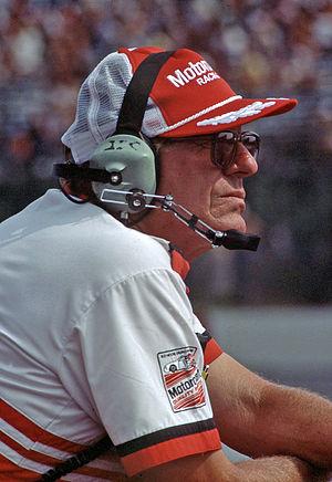 Bud Moore (NASCAR owner) - Moore in 1985