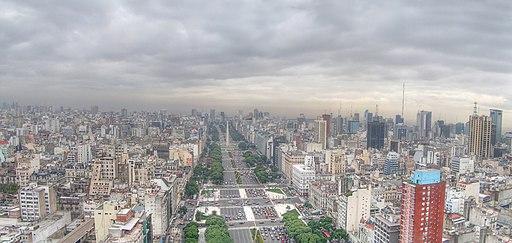 Buenos Aires - Monserrat - Avenida 9 de Julio