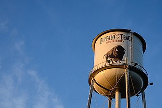 Buffalo Trace Distillery - Buffalo Trace Distillery water tower