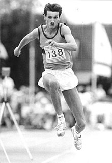 Volker Mai East German triple jumper