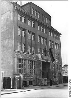 German Central Library for the Blind - The DZB in 1954