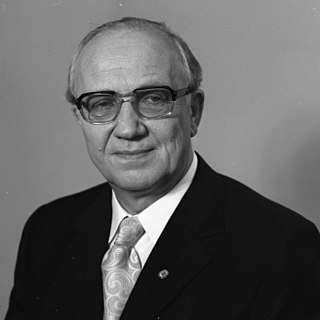Horst Sindermann Prime Minister of East Germany