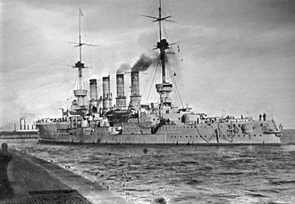 SMS Yorck - An unidentified Roon-class cruiser