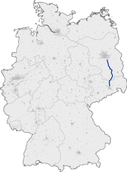 Bundesautobahn 13 map.png