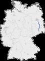 Bundesautobahn 13 map.png