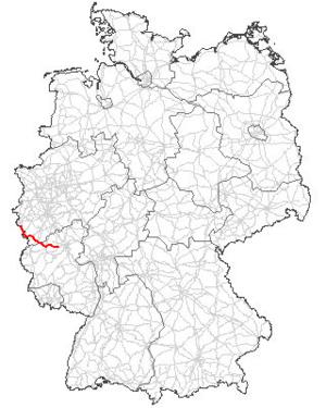 Verlauf der B 258