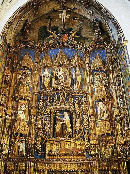 Burgos - Catedral 039 - Capilla de Santa Ana