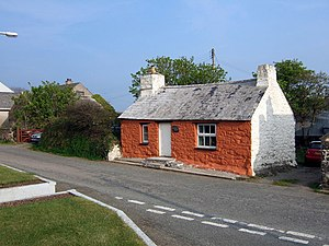 Grouted roof - Bwthyn Alarch, Pembrokeshire