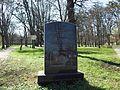 Były cmentarz Marii Panny przy alei Zwycięstwa w Gdańsku.JPG