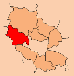Location within the county