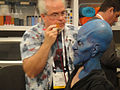 CES 2012 - Sony - Men in Black 3 alien makeup demonstration (6764175155).jpg