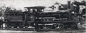 CGR 3rd Class 4-4-0 1883 - Image: CGR 3rd Class 4 4 0 1883 no. 84