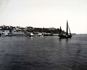 Sambu Island - View of Sambu in 1928