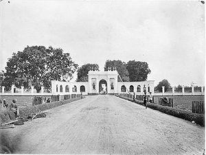 The Amsterdam Gate, Batavia (Jakarta), Indonesia