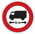 CZ-B17 Zákaz vjezdu vozidel nebo souprav vozidel jejichž délka přesahuje vyznačenou mez.jpg
