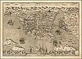 Ca. 1600 bird's eye view map of Constantinople.jpg