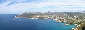 Calanque - Calanques de Marseille from Cap Canaille