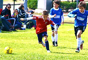 English: Caleb Mendez, youth soccer talent