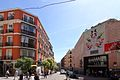 Calle de AugustoFigueroa, desde la calle Barbieri, Mercado de San Antón.jpg